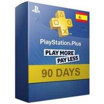 Psn Plus España 90 Dias-3 Meses-ps3-ps4-entrega Inmed.x Mail