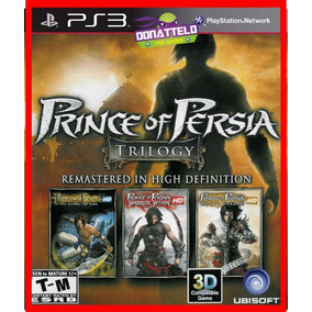 Coleção Prince Of Persia Trilogy Jogos Ps3 Psn Envio Rapido