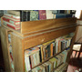Lote De Libros Usados Y Nuevos Con Dos Muebles Con Estantes.