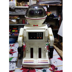 robot antiguo ct retro caja original