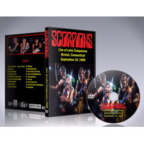 Dvd Scorpions - Lake Compounce 1988