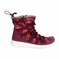 Botas Impermeables Zapatillas Nike Roshe One Hi Print Mujer