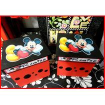 Souvenir 10 Cajas Mickey Mouse O Miney