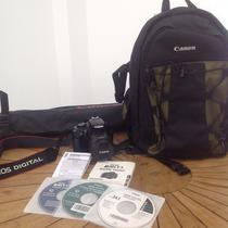 Camera Canon Rebel T3 + Lente 18-55mm Máquina Fotográfica