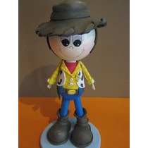 Centro De Mesa Fofucho Woody Buz Lightyear Toy Story Foamy