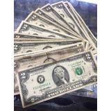 Un Billete Norteamérica 2 Dólares Condicion Usado
