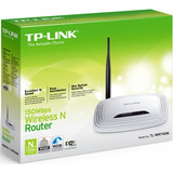 Router Wifi Tp Link Wr740n Wireless 150mbps Norma N Mexx