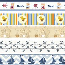 Faixa Decorativa De Parede Infantil Border Quarto De Bebê