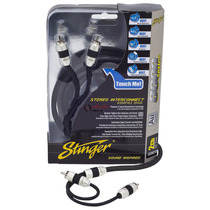 Stinger Cable Rca 2 Canales Series 8000 Plata 90 Cms El Mejo