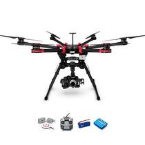Dji Drone S900 Hexacoptero Gopro Futaba Hd Lightbridge Kit 1