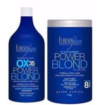 Kit Power Blond Pó & Ox35, Forever Liss