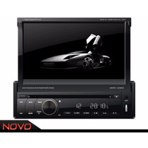 Dvd Retrátil Napoli 7968 Gps, Tv Digital, Bluetooth E Cam/ré