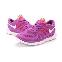 Zapatos Nike Free Run 5.0 100% Originales Nuevos En Cajas