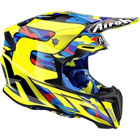 Capacete Airoh Twist Tam. 58 Motocross Trilha Enduro