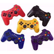 Controle Wireless Sem Fio 4 Em 1 Pc Ps1 Ps2 Ps3 - Color