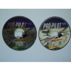 Jogo Pc Original - Pro Pilot 99 - Simulador De Voo - Sierra