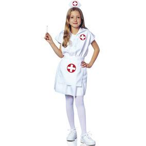 Disfraz Pequeña Enfermera Franco Para Niña Talla S