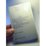Participacion Ciudadana Constitución. Maximiano Errazuriz.