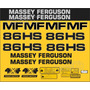 Kit Adesivos Massey Ferguson Mf 86hs - Decalx