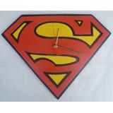 Reloj Pared Supermán Diseños Personalizados.