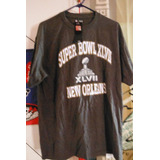 Super Bowl Xlvii 47 Playera Nfl Football Team Apparel 2013