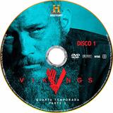 Dvd Vikings - 4ª Temporada (2ª Parte) - Legendado E Dublado