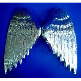 Alas De Angel Color Plata Disfraz A Solo $19 Pesos La Pieza