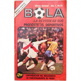 Bola # 13 Revista De Sus Pronosticos Deportivos 1978