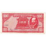 Billete De 100 Pesos Chile 29 De Noviembre 1944