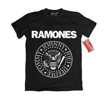 Playera Ramones Oficial Rock Original Punk Envio Gratis Dhl