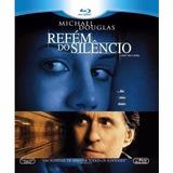 Refém Do Silencio Bluray Lacrado Original Michael Douglas