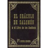 El Oráculo De Salomón O El Libro De Los Destinos - Humanitas