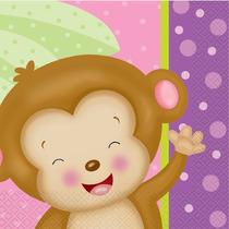 Niña Overol Baby Shower Diaper Cake Kit, Servilletas Para Al