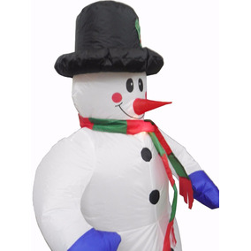 Boneco Natal Inflavel De Neve L Natalino Gigante Decoracao