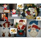 Adorno Navideño Colgante Puerta Navidad