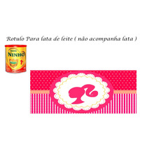 Rótulos Personalizados De Lata De Leite 400gr R$ 1,49