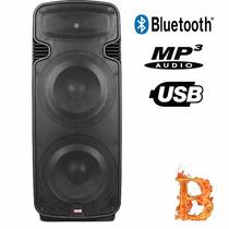 Caixa De Som Profissional 600w Ideal Para Shows Bluetooth