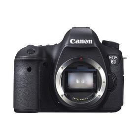Canon 6d Eos Full-frame Nova,na Caixa