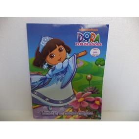 Dora La Exploradora Fiestas 10 Libros Colorear Recuerdos