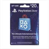 Código Tarjeta Playstation Psn Card U$20 Region Usa - Email