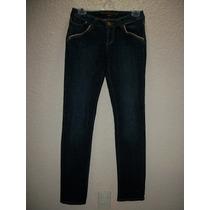 Pantalon D Mezclilla Boom Boom Jeans Para Dama Skinny 5-28