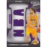 2009-10 Certified Triple Jersey Nba Pau Gasol Lakers