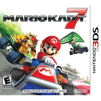 Mario Kart 7 - Nintendo 3ds - 3ds Xl - 2ds --