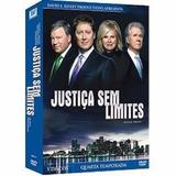 Justiça Sem Limites 4ª Temp C/ 5 Dvds Lacrado Raro