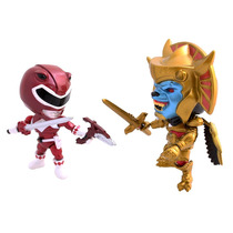 Red Power Ranger Goldar The Loyal Subjects Comic Con Muñeco