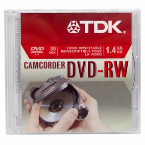 Mini Dvd Rw 100% Originales Y Nuevos Marca Tdk 30min