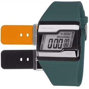 Relógio Mormaii Digital Kit Troca Pulseira Fzu/8l Original