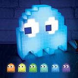 Lampara Pac-man Ghost Light Multicolor Usb