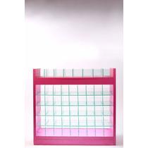 Mueble Exhibidor De Tienda Vitrina Anaquel Mostrador Rosa