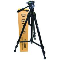 Tripe Para Câmera Digital Dslr Filmadora 1,60 Mts Tr 662 An